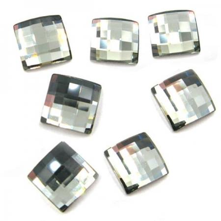 Cercei argint 925 cu swarovski elements culoare Black Diamond1