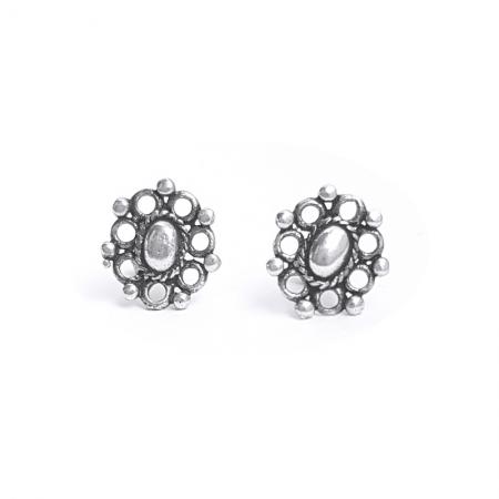 Cercei argint 925 cu flori CER0576