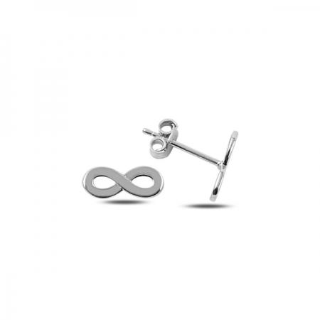 Cercei argint 925 rodiat cu infinit - Infinite You ETU0064