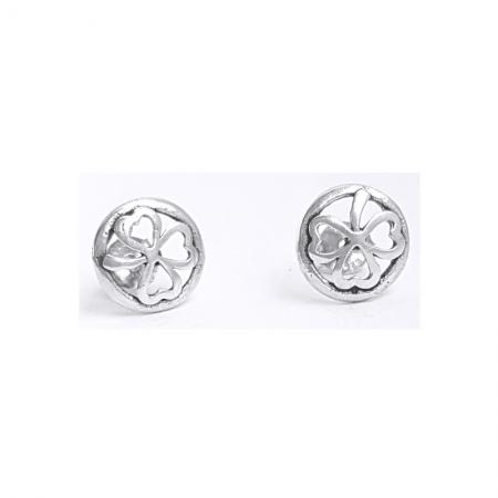 Cercei argint 925 trifoi CER0790
