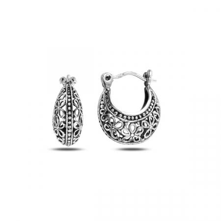 Cercei argint poseta filigran - ETU0138