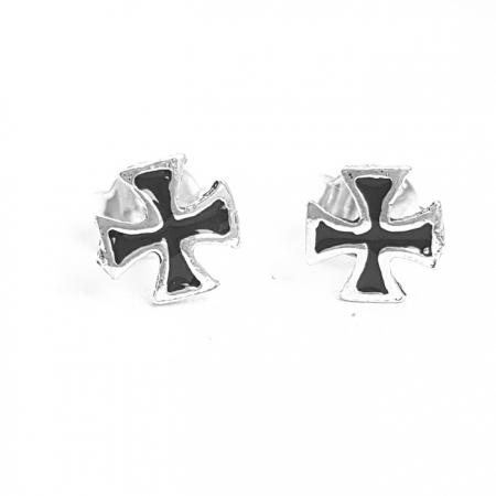 Cercei argint 925 cu cruciulite CER0714