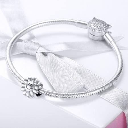 Charm argint 925 cu floarea soarelui zambitoare - Be Nature PST0150 [1]