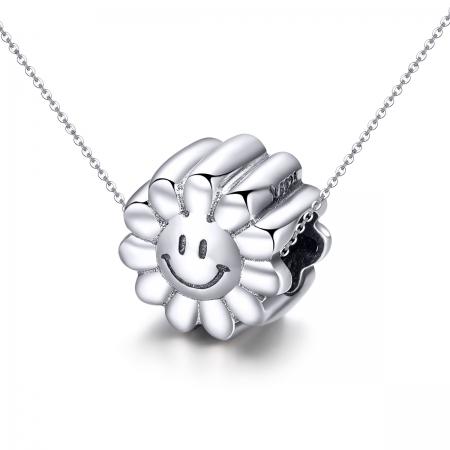 Charm argint 925 cu floarea soarelui zambitoare - Be Nature PST0150 [4]