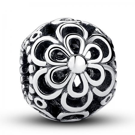 Charm argint 925 cu floricele - Be Nature PST0026