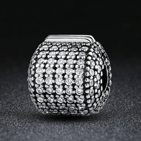 Charm argint 925 cu zirconii albe - Be Elegant PST00421