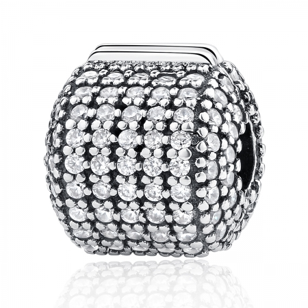 Charm argint 925 cu zirconii albe - Be Elegant PST0042