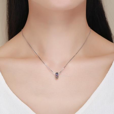 Charm argint 925 cu zirconii multicolore - Be Elegant PST01185
