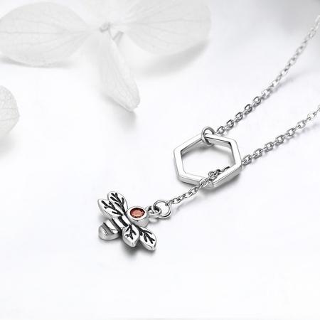 Colier argint 925 cu albinuta - Be Nature CST00092