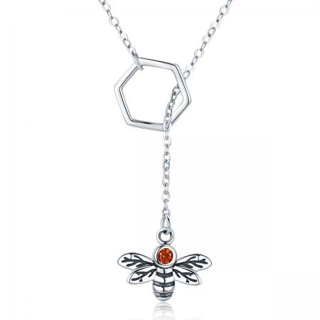 Colier argint 925 cu albinuta - Be Nature CST0009