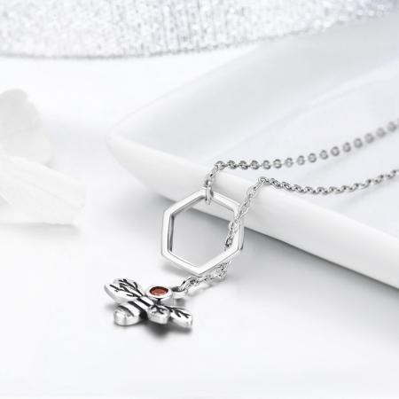 Colier argint 925 cu albinuta - Be Nature CST00094