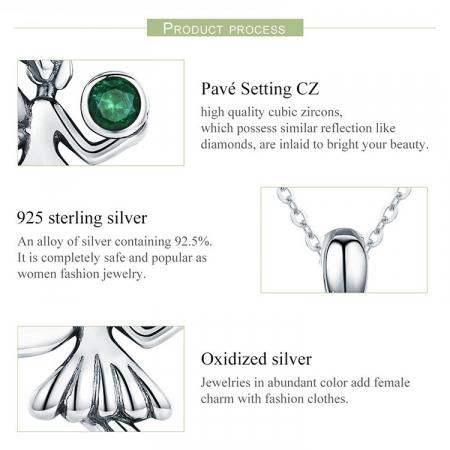 Colier argint cu Zana Padurii8