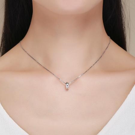 Colier argint cu zirconii [3]