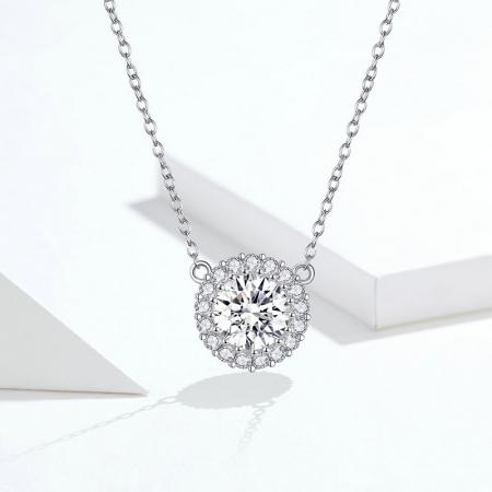 Colier argint cu zirconii [7]