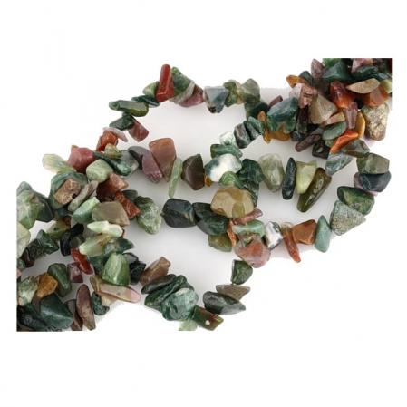 Colier cu mix pietre agate