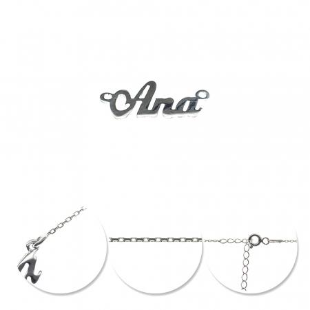 Colier din argint 925 personalizat Ana