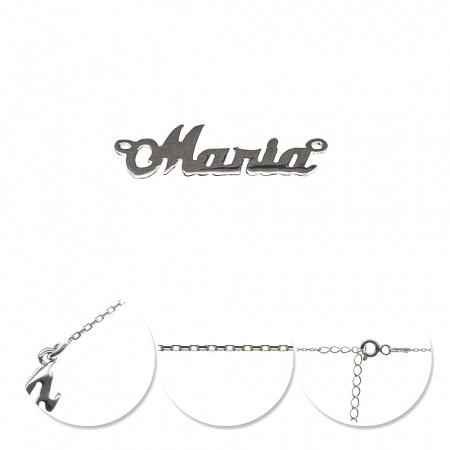 Colier din argint 925 personalizat Maria