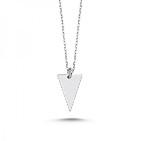 Colier minimalist din argint 925 rodiat - Be Elegant CTU0074