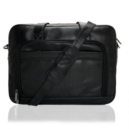 Geanta laptop din piele naturala de calitate GEAZ0018