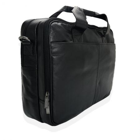 Geanta laptop din piele naturala de calitate GEAZ0011