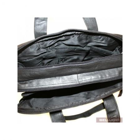 Geanta laptop din piele naturala de calitate GEAZ0015