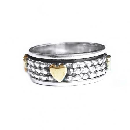 Inel argint 925 Antistres, Shanti