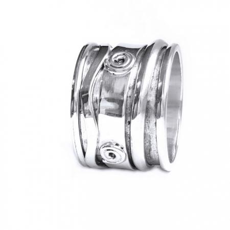 Inel argint 925 Antistres, Mantra2