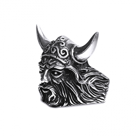 Inel argint 925 cap de Centaur2