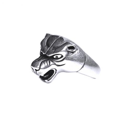 Inel argint 925 cap de pantera2