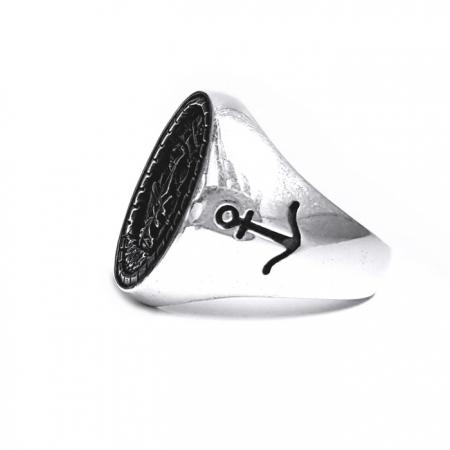 Inel argint 925 cu corabie1
