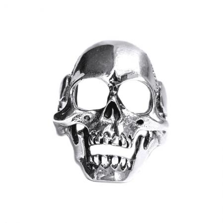 Inel argint 925 cu craniu, Afterlife