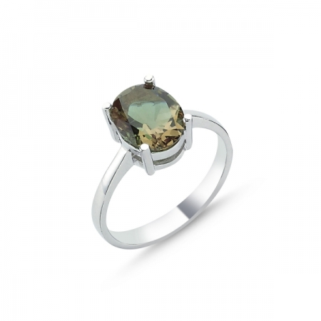 Inel argint 925 cu piatra zultanit - Be Elegant ITU00901