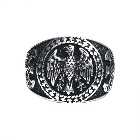 Inel argint 925 cu vulturi