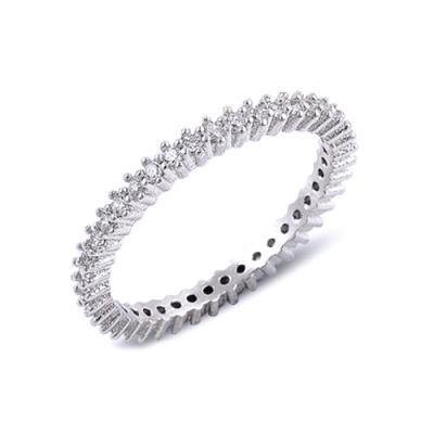 Inel argint 925 cu zirconii albe