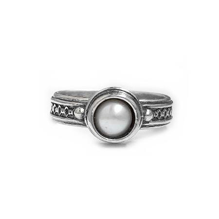 Inel argint 925 Israel cu perla