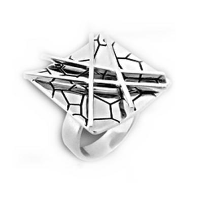 Inel argint 925 lucrat manual [0]