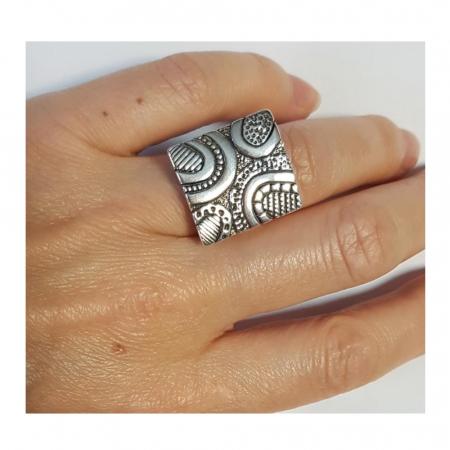Inel argint 925 lucrat manual [3]