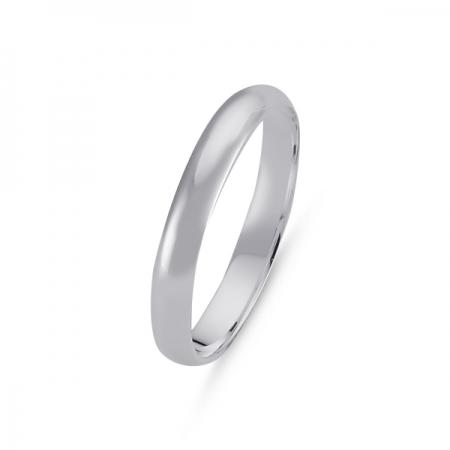 Inel argint 925 model verigheta 3 mm ITU0092