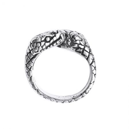Inel argint 925 reglabil, cu serpi