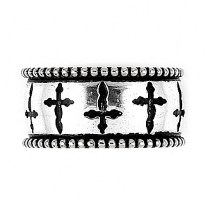 Inel argint 925 TWISTED BLADE cu aspect vintage1