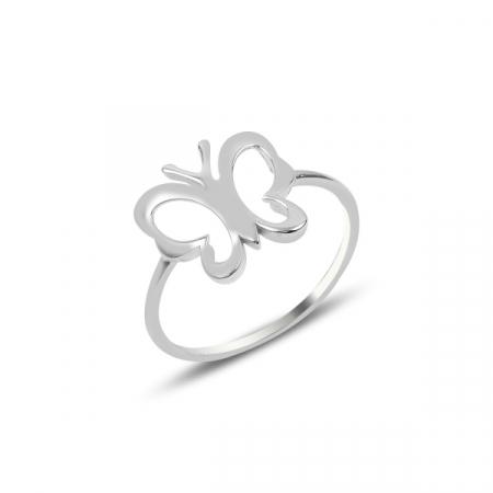 Inel argint cu flururas - ITU0238