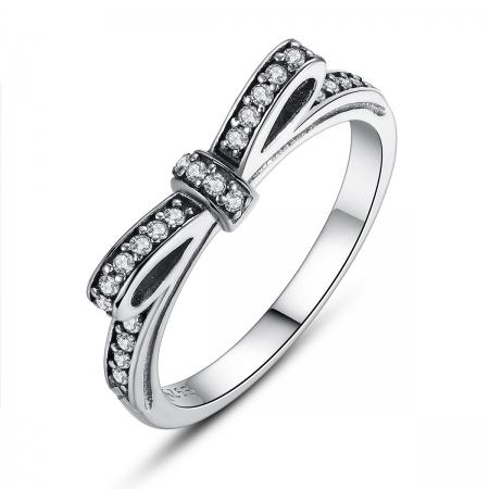 Inel argint cu fundita si zirconii albe - Be Authentic IST0007
