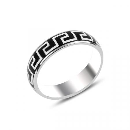 Inel argint cu model grecesc