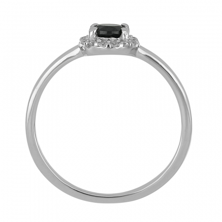 Inel argint cu onix si cristale de zirconiu alb - IVA0116 [3]