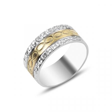Inel argint lat Infinity