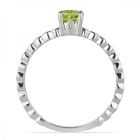 Inel argint Rosalind, 925, cu peridot - IVA00532
