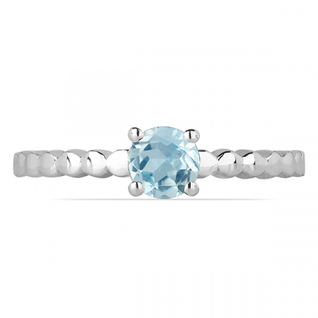 Inel argint Rosalind, 925, cu topaz Sky Blue - IVA00601