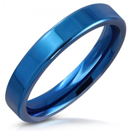 Inel inox albastru ISL1087