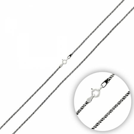 Lant argint 925, 60 cm lungime si 1 mm grosime - LTU0047