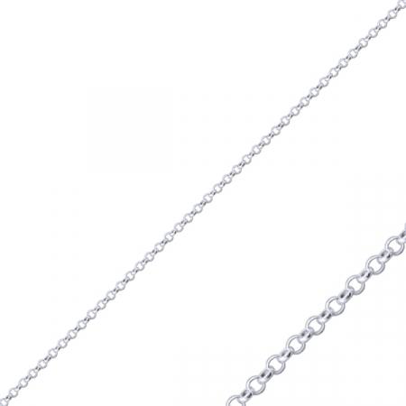 Lant argint 925, Latime: 2 mm placat cu rodiu - LTU0027
